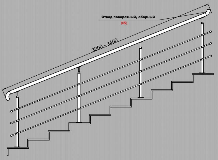 Ограждения из нержавеющей стали нержавейки чертежи схемы монтаж ограждений лестничные ограждения офисные ограждения лестниц лестничные ограждения современные из нержавеющей стали схема сборки нержавейки