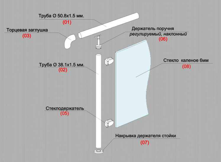 Схема сборки типовой