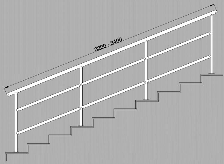 Ограждение из нержавеющей стали нержавейки нержавеющее лестничные лестницы AISI 304 строительство металлоконструкции