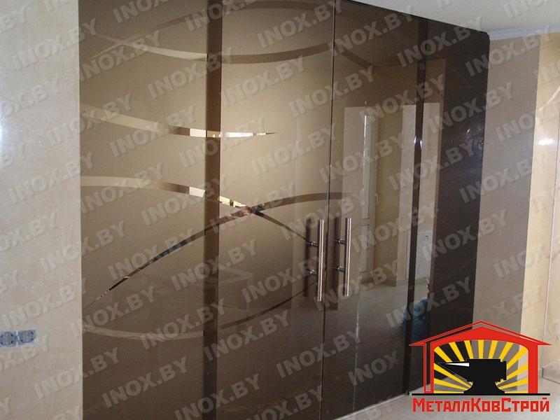 Стеклянная дверь №04