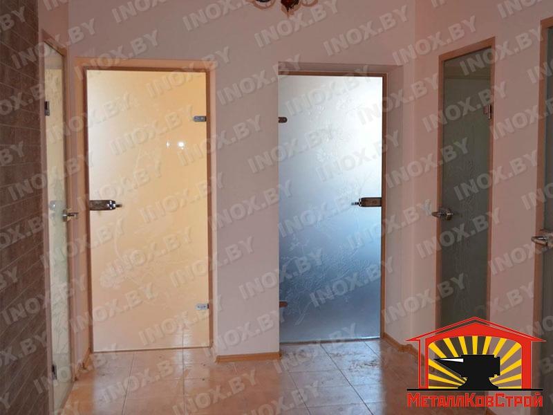 Стеклянная дверь №05