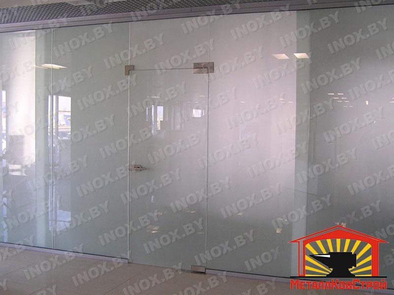 Стеклянная дверь №01